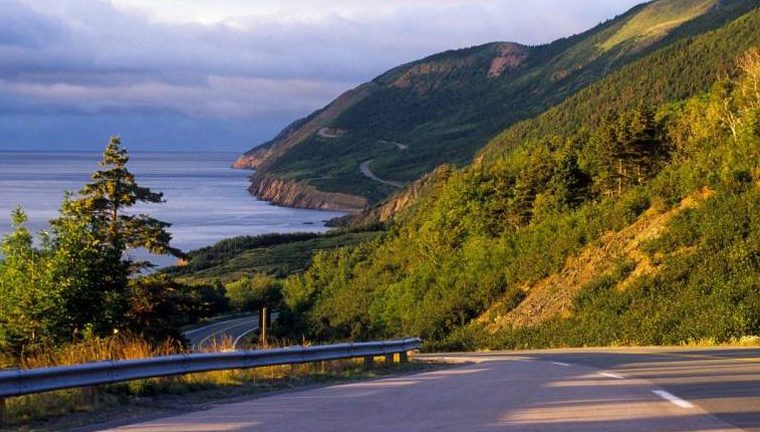 The scenic Cabot Trail. - Parks Canada