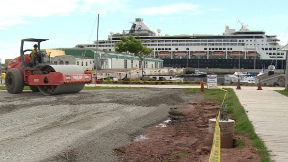 Cruise Terminal Construction
